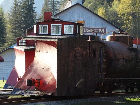 Revelstoke Railway Museum : De sneeuwschuiver