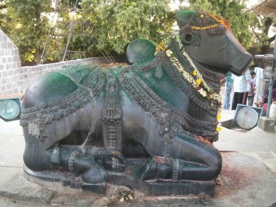 Thousand Pillar Temple: Nandi Bull