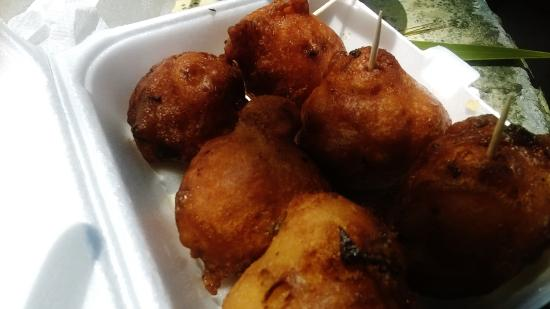 Robinson's Seafood Delight: Real Conch Fritters