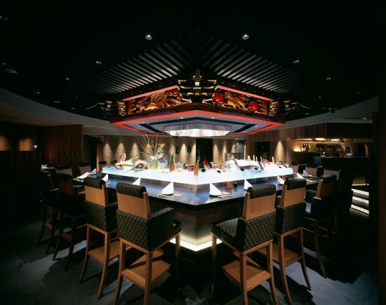 Bishoku Maimon Roppongi: 美食米門 六本木 カウンター席