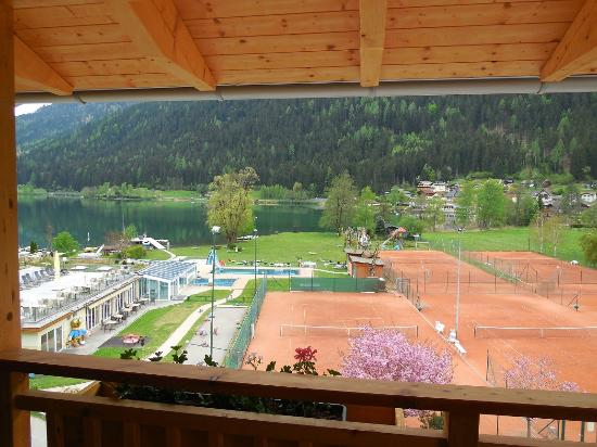 Hotel Brennseehof: Aussicht vom Balkon