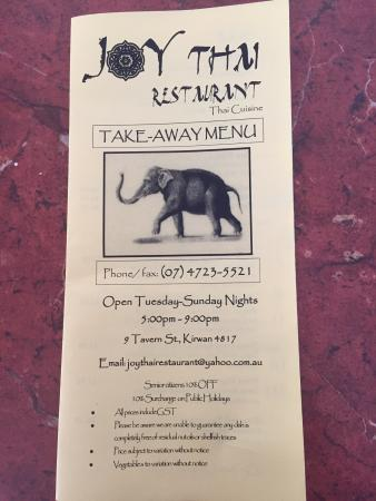 Joy Thai Restaurant