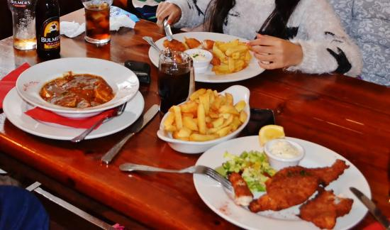 The Traveller's Inn: Fish and chips