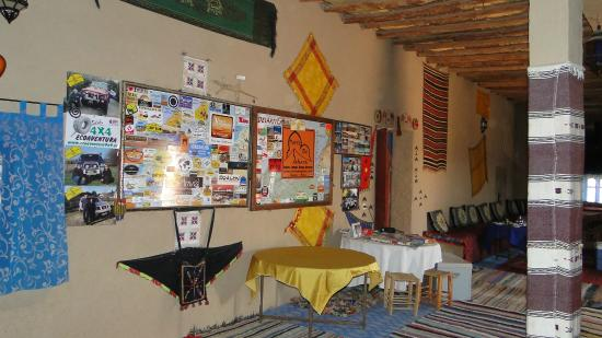 Auberge Hotel Porte De Sahara Ouzina : Hall-recibidor
