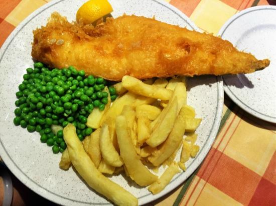 The Traditional Plaice: Deep fried Haddock
