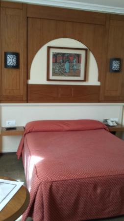Pasarela Hotel: dormitorio