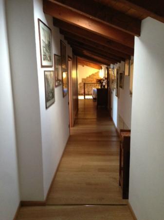 Ca' dal Cicin: Corridoio delle camere