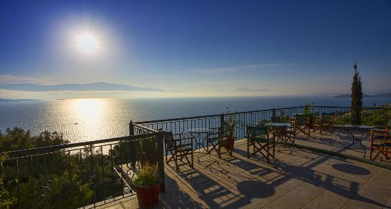 View from Aliki Hotel