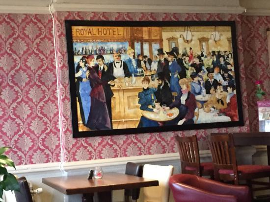 The Royal Bar : Royal Bar painting