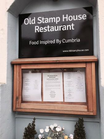 Old Stamp House Restaurant Ambleside