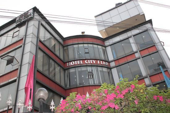 Hotel City Star: Hotel front view
