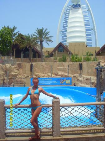 Wild Wadi Water Park: серфинг