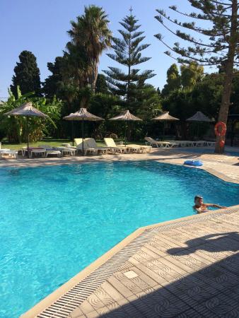 Theatraki Studios and Apartments: La piscina