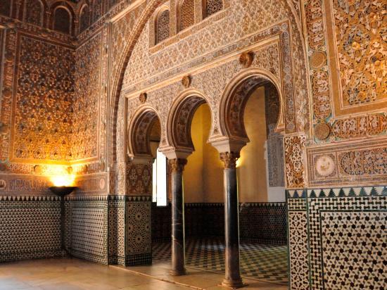 Alcazar picture of real alcazar seville tripadvisor for Salon los azulejos