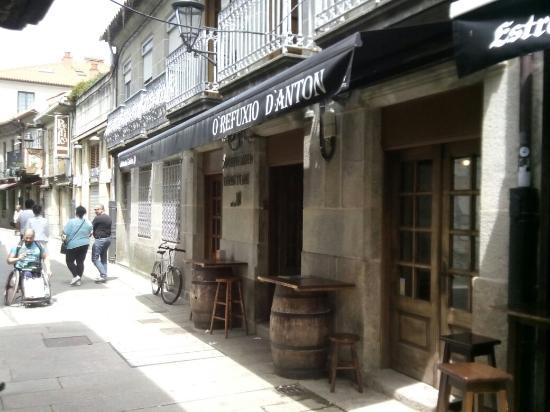 Baiona, España: O Refuxo d'Anton
