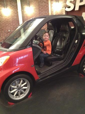 Children's Museum of Pittsburgh : What kid doesn't love to drive?