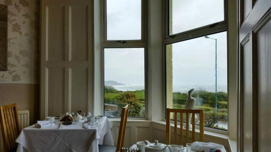 Glyn-y-Coed Hotel: View from the Breakfast room