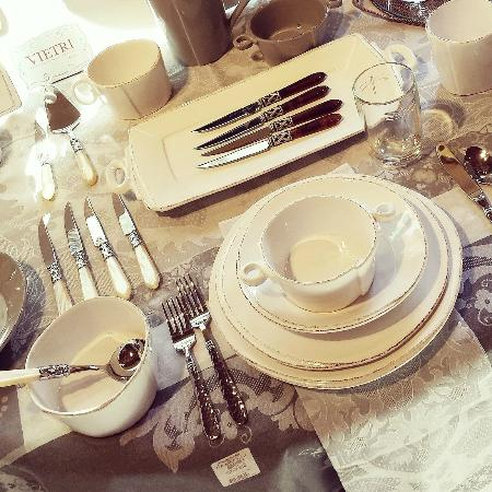 Washington, VA: Vietri Italian tableware, flatware