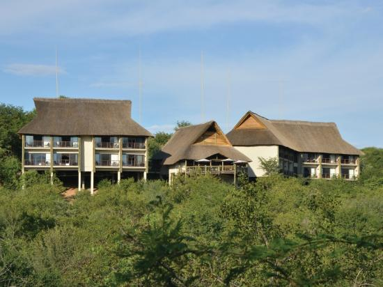 Victoria Falls Safari Club: Club view from the Zambezi National Park