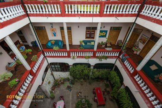 Jardines verticales fotograf a de hostal quito cultural for Jardines verticales quito ecuador