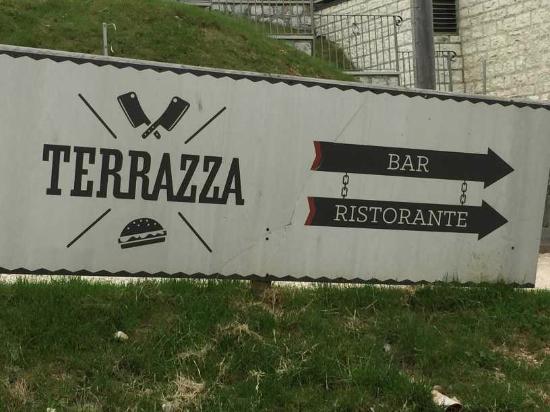 L Insegna Picture Of Terrazza Casa Rossa Asiago Tripadvisor