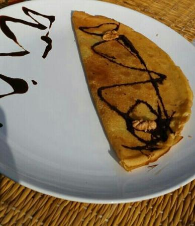 Dar Tata: crepe de chocolate