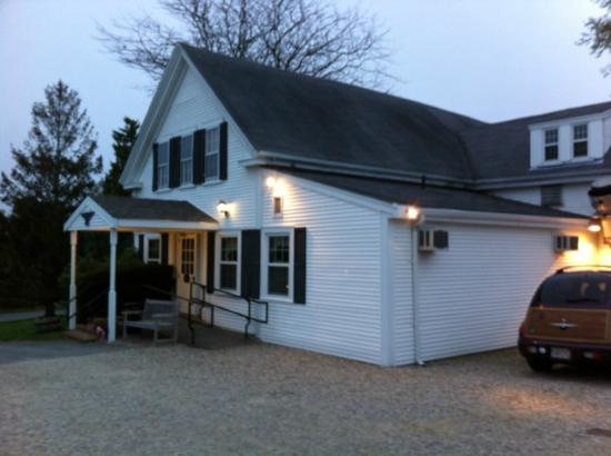 The Whitman House: Outside