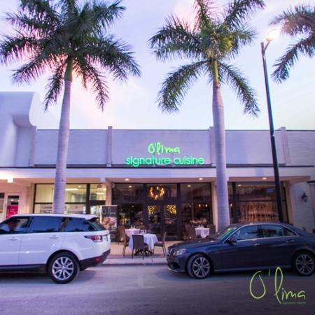 O'Lima: Front vew of restaurant