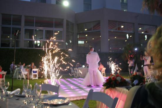 Hotel Riu Palace Peninsula Wedding Reception