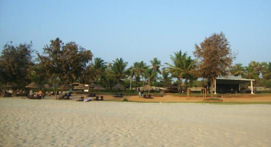 The Zuri White Sands Goa Resort Private Beach