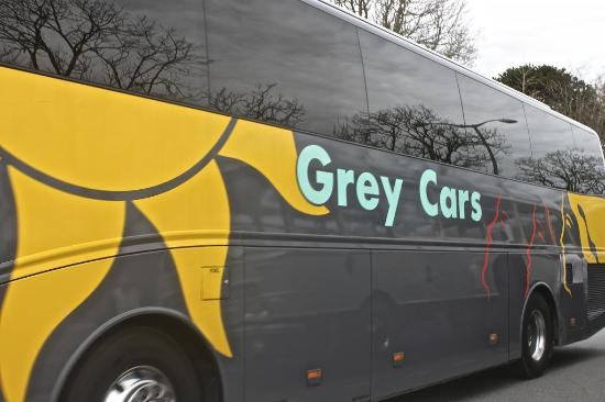 Grey Cars Coaches