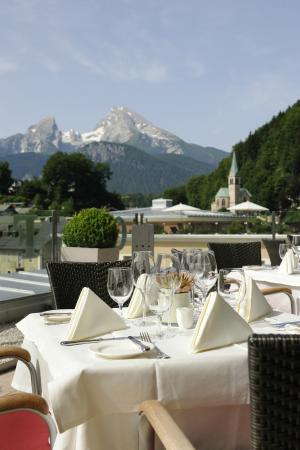 Edelweiss Panorama: Panormarestaurant - Hotel Edelweiss Berchtesgaden