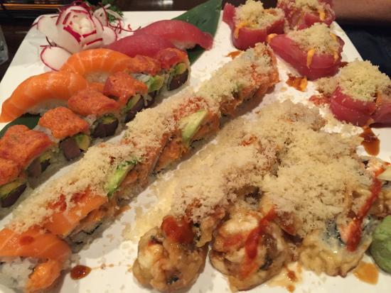 Fancy Sushi & Grill: Various Rolls