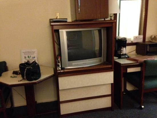 Prospect Historic Hotel - Motel and Dinner House: tube TV
