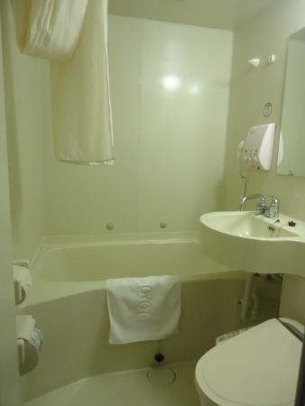 Toyoko Inn Busan Haeundae: バスルーム