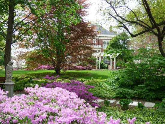 Executive Mansion: Spring flowers