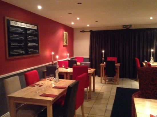 the new restaurant decor 2015 - picture of valentine's restaurant