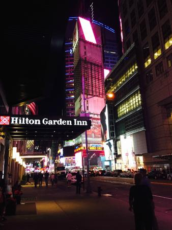 Vista Picture Of Hilton Garden Inn New York Times Square Central New York City Tripadvisor