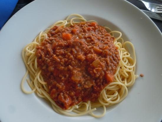 Pasta Caffe - Cais de Gaia : Spaghetti Entree at Pasta Cafe