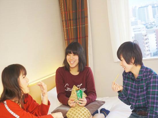Hotel Keihan Kyobashi : お友達とのお時間をごゆっくりお過ごし下さい!