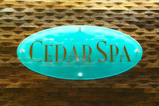 Cedar Spa: Spa Reception