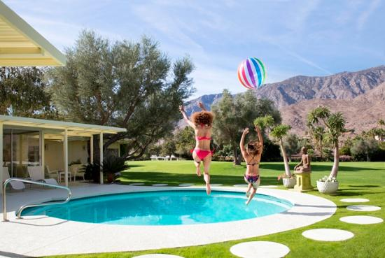 Palm Springs, CA: A great place to bring a little color to your cheeks.