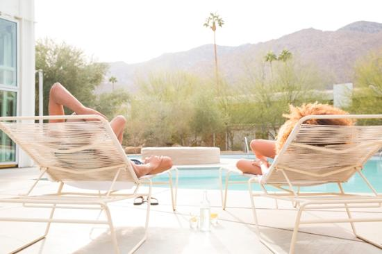 Palm Springs, CA: Relaxation done swell.