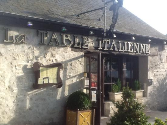 La table italienne picture of table italienne senlis tripadvisor La table italienne senlis