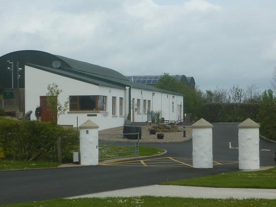Ballyness Caravan Park: Reception Block
