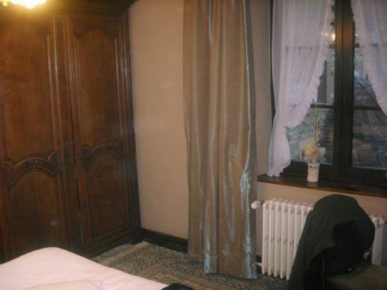 Le Vieux Logis : kamer aan achterkant