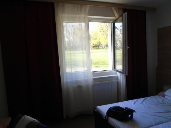 Springer Schlossl Hotel: The window towards the park