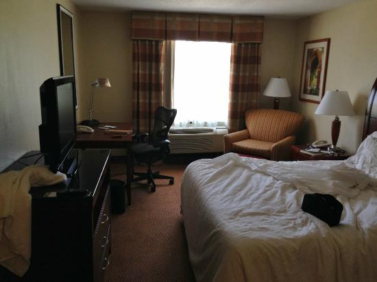 Hilton Garden Inn Starkville: A room you actually want to stay in