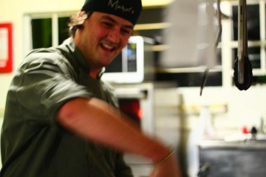 Mahoi's: Owner and chef, Jonathan Robinson