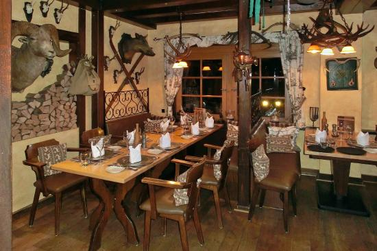 Relais & Chateaux Hotel Jagdhof Glashuette: gemütliche Essecke